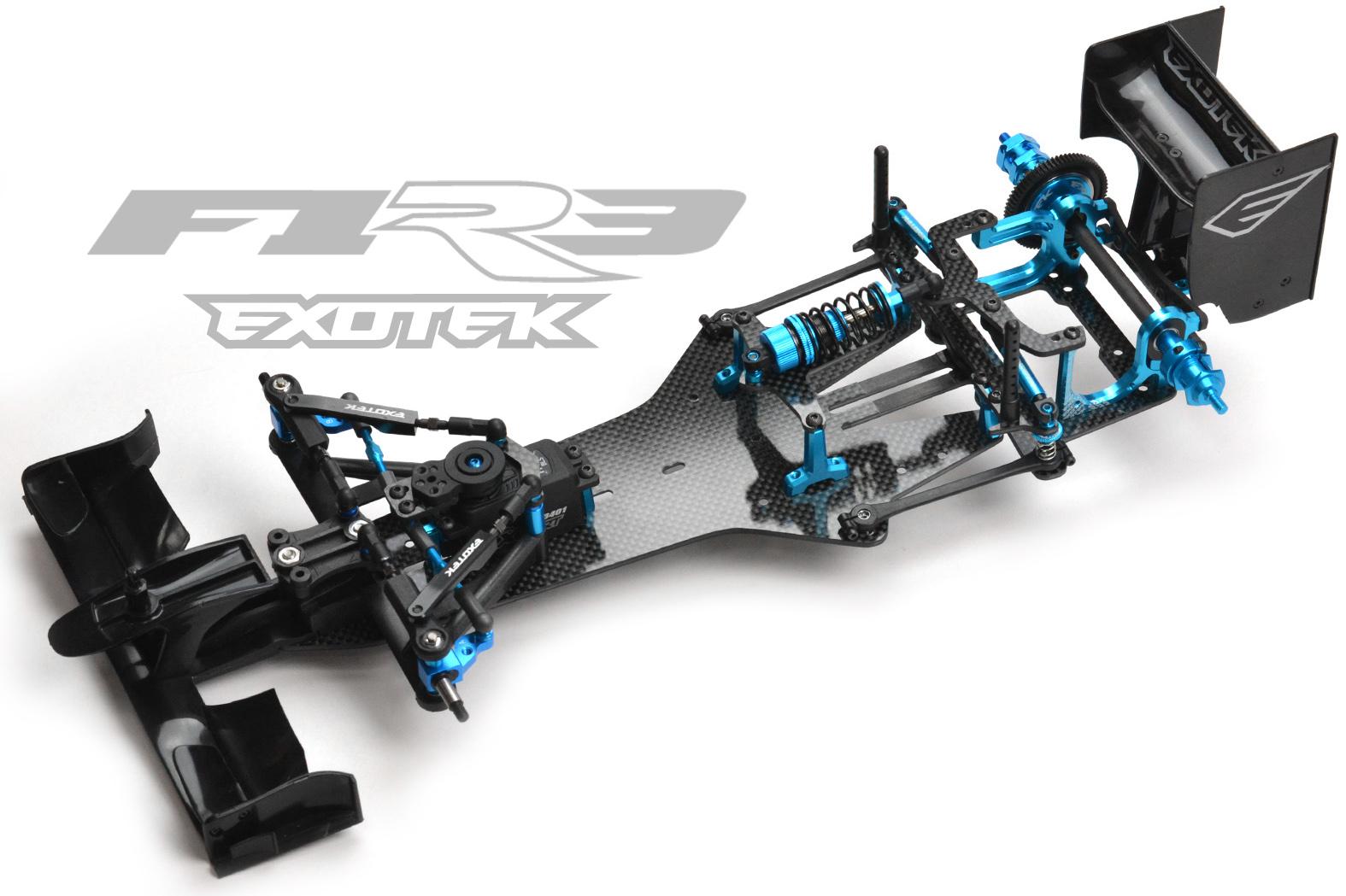 Exotek F1R3 Setup Sheets
