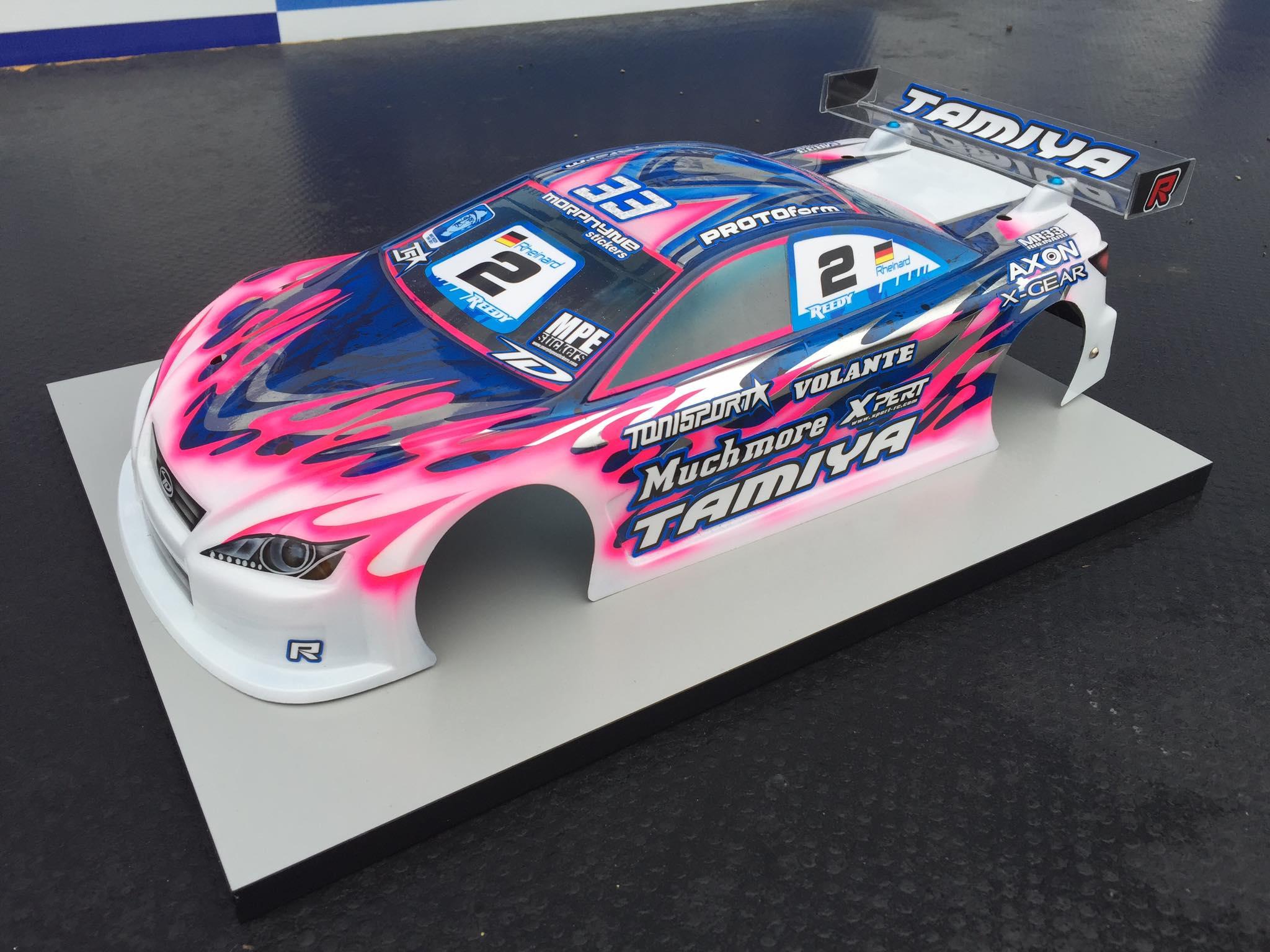 Tamiya Trf419x Marc Rheinard Reedy Race Of Champions