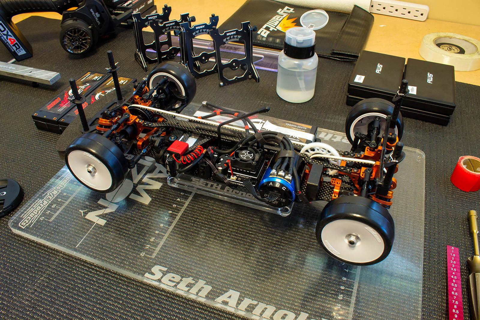 Team Xray T4'16 - Seth Arnold - Build
