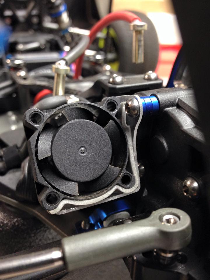 Team Associated B5M 3 Gear - Jason Corl - Fan Mount