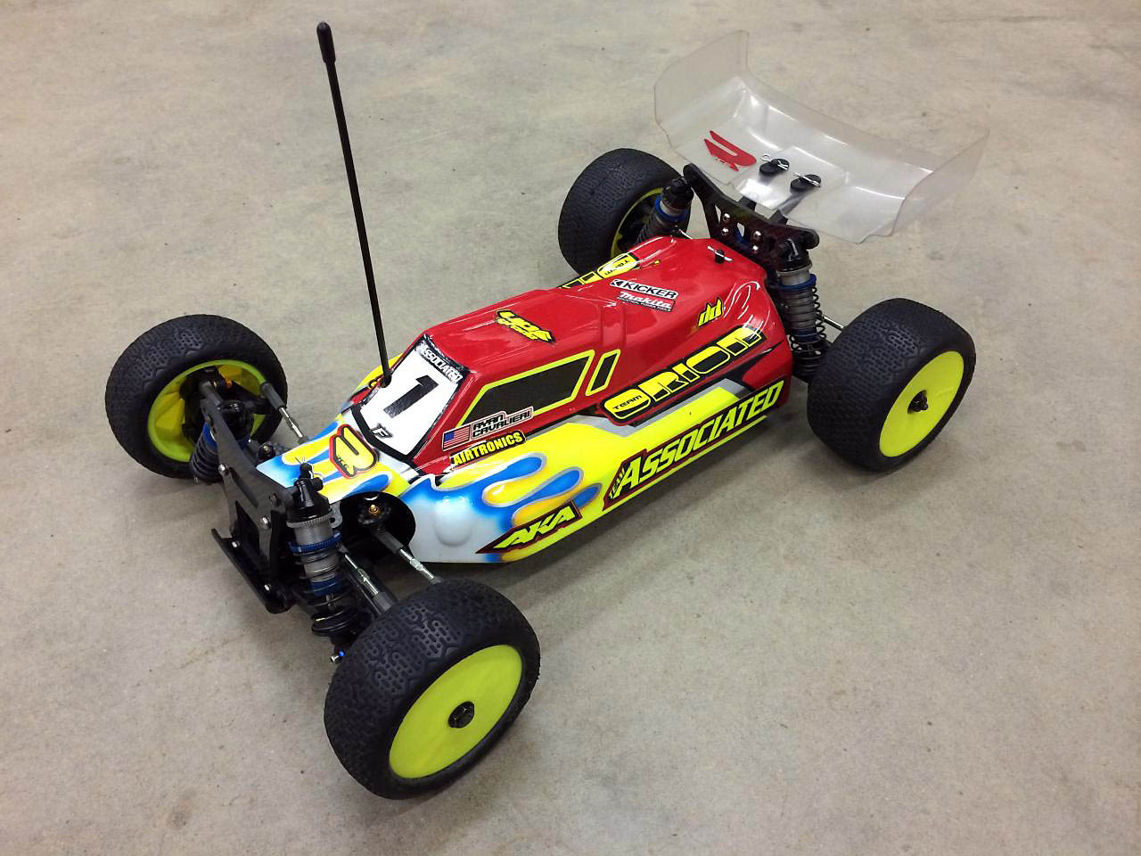 Team Associated Sc102 Matthew Gonzales 3rd Annual Top Gun Rc Car Wiring Diagram Rc8 2e Ryan Cavalieris Winning 4wd