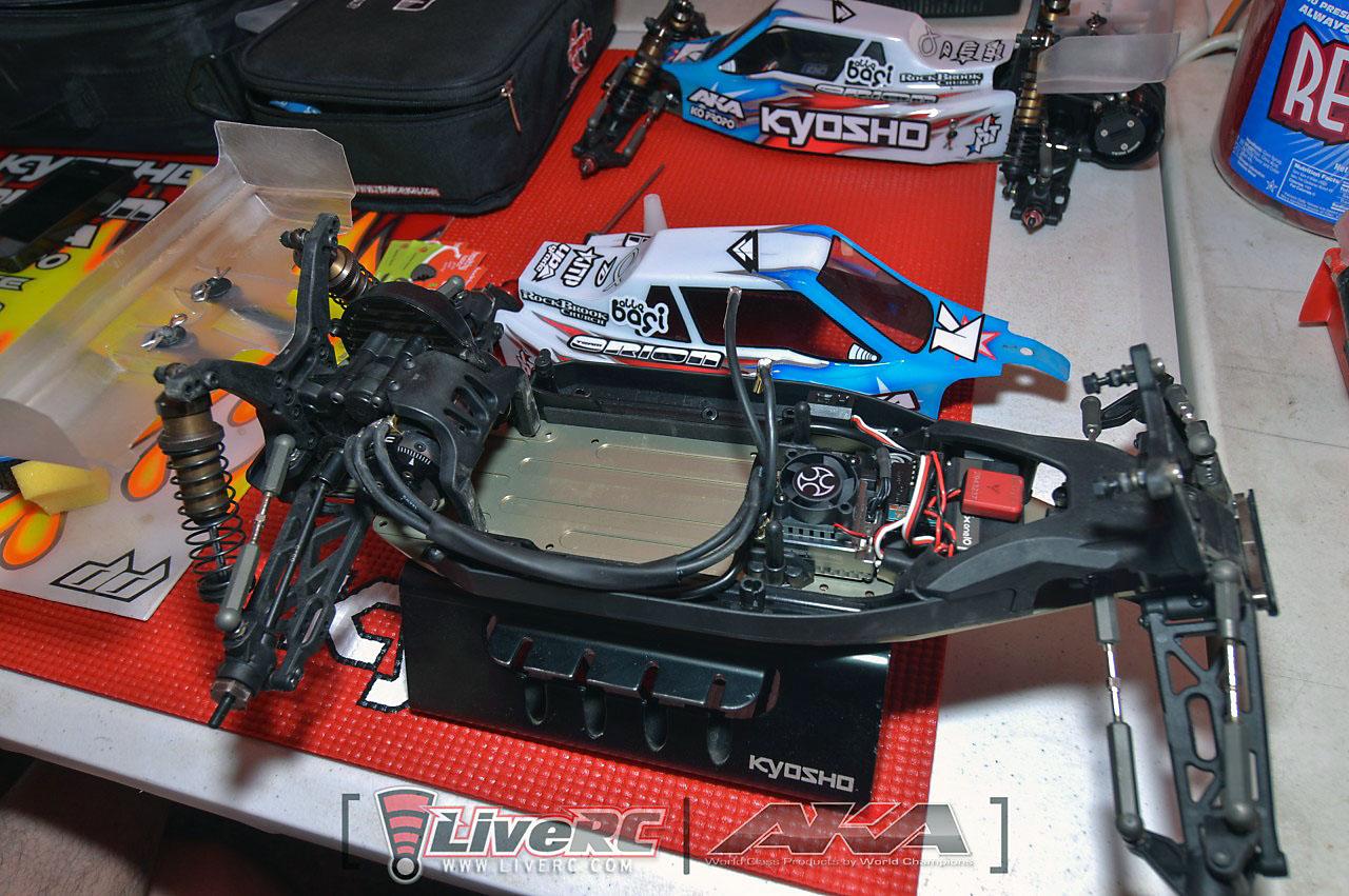 kyosho rb electronics setup mid motor