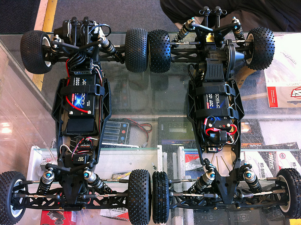 Team Losi 22 Electronics Setup