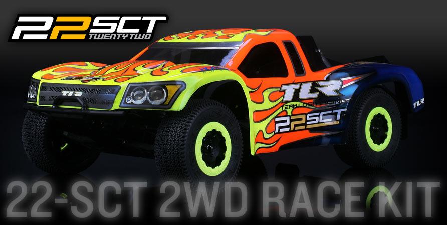 Team Losi Racing 22 Short Court Truck Sct