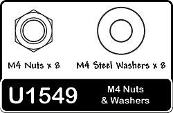 Schumacher SPEED PACK U1548 M3 Washers