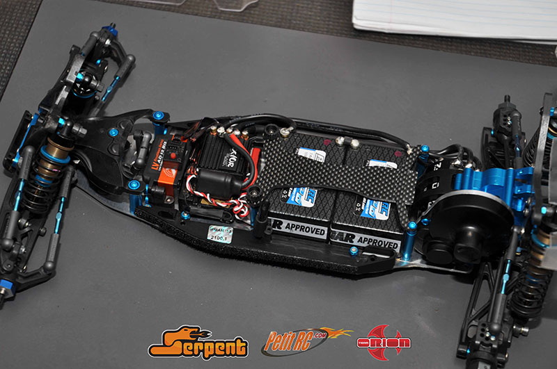 Tamiya Trf201xm Lee Martin World Championship Chico