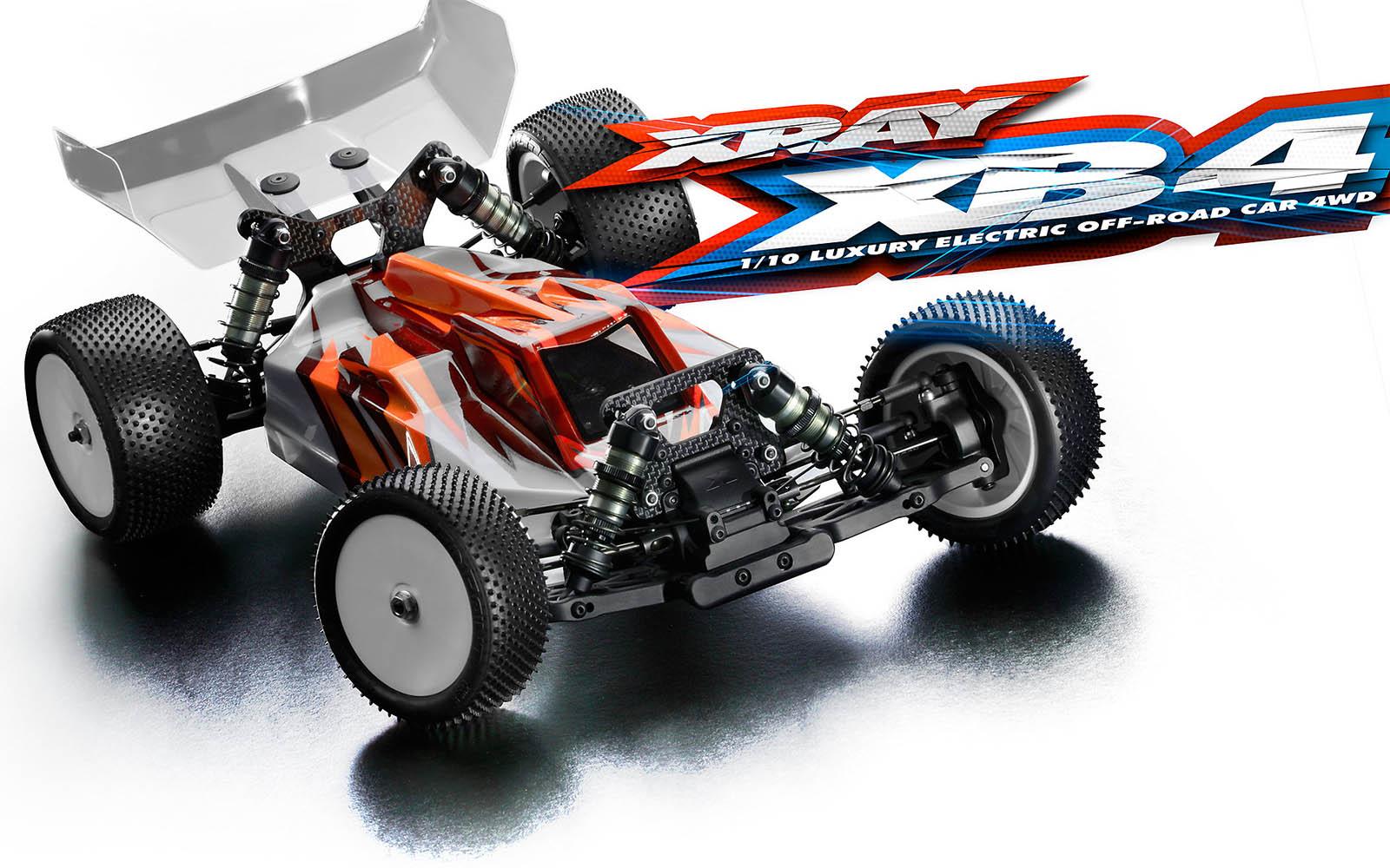 Team Xray XB4'15, XB4'16, XB4'17, XB4'18 & XB4'19 Manuals