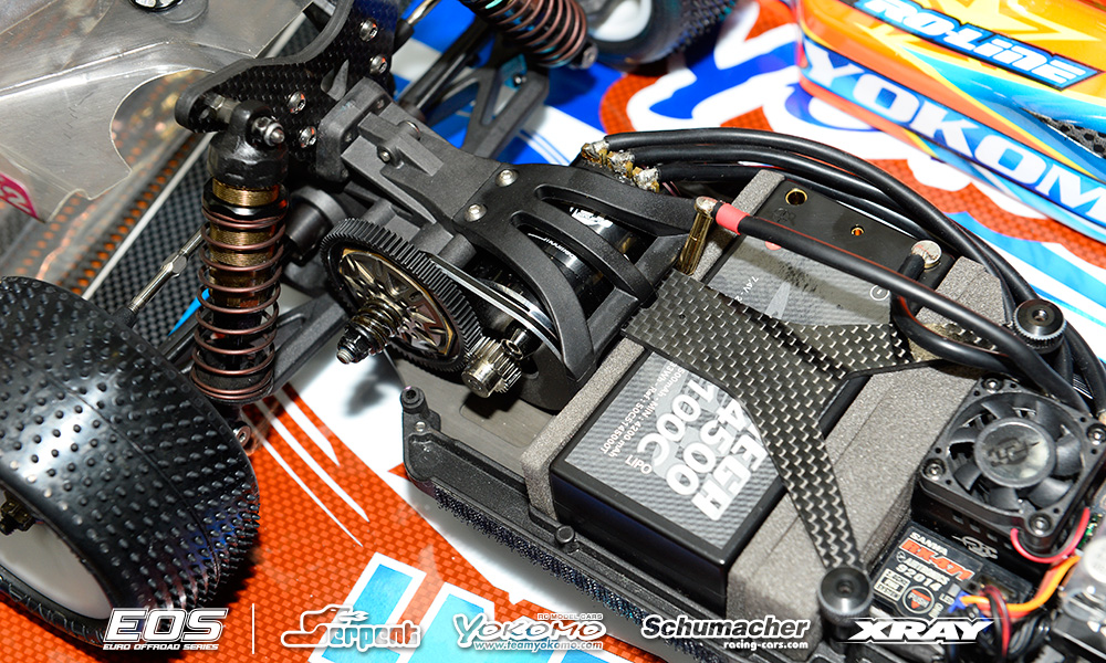 Car And Driver >> Yokomo YZ2 - Lee Martin - EOS - Muelheim-Kaerlich - 29-31.01.2016